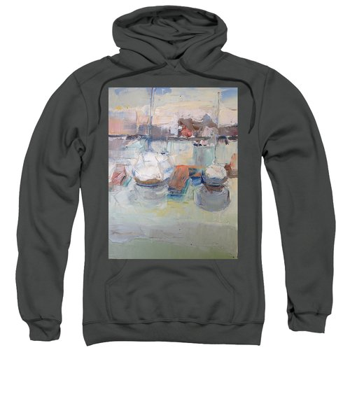 Harbor Sailboats Sweatshirt