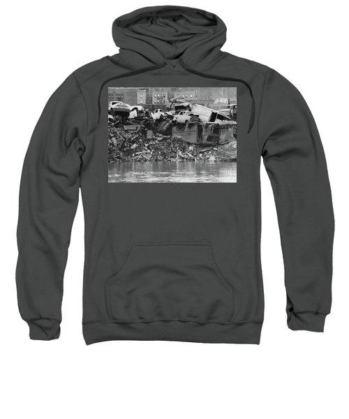 Harlem River Junkyard, 1967 Sweatshirt