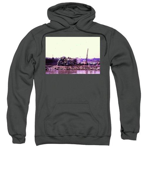 Harlem River Junkyard Sweatshirt by Cole Thompson