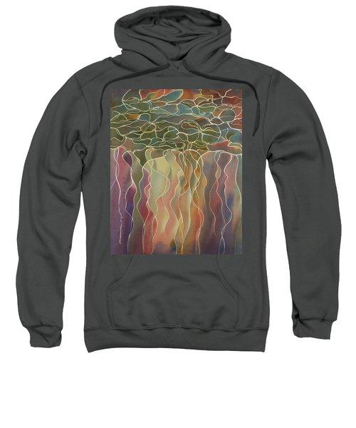 Harlequin Water Lillies Sweatshirt
