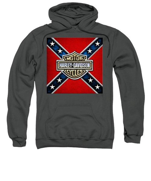 Harley-davidson - 3d Badge Sweatshirt