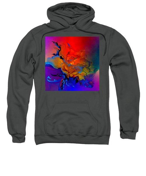 Sweatshirt featuring the painting Harmony by Hanne Lore Koehler