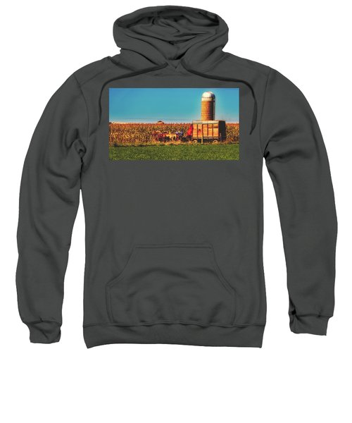 Harvest In Amish Country - Elkhart County, Indiana Sweatshirt