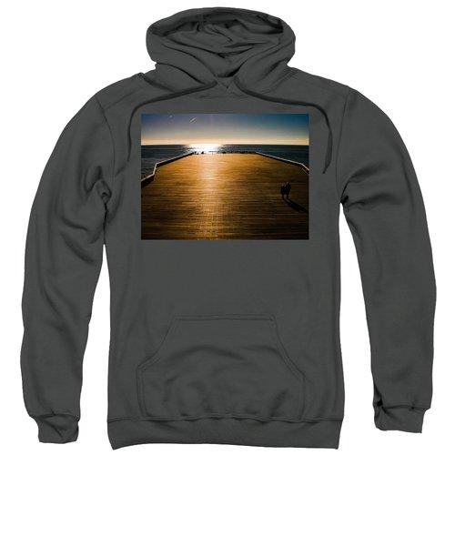 Hastings Pier, Hastings, Sussex, England Sweatshirt