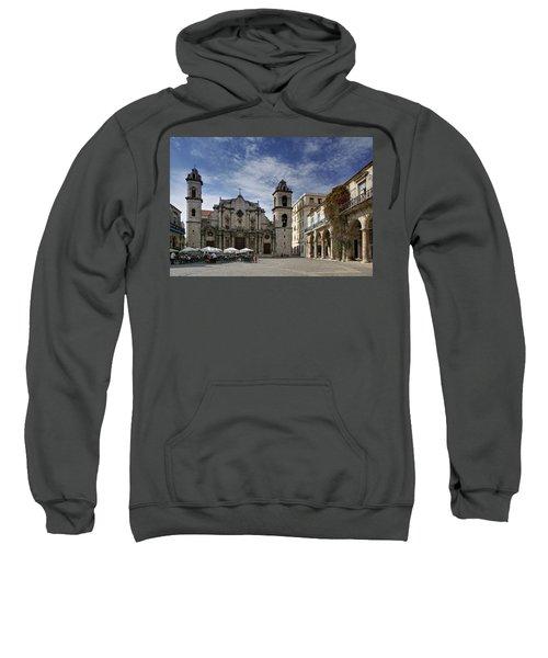 Havana Cathedral. Cuba Sweatshirt