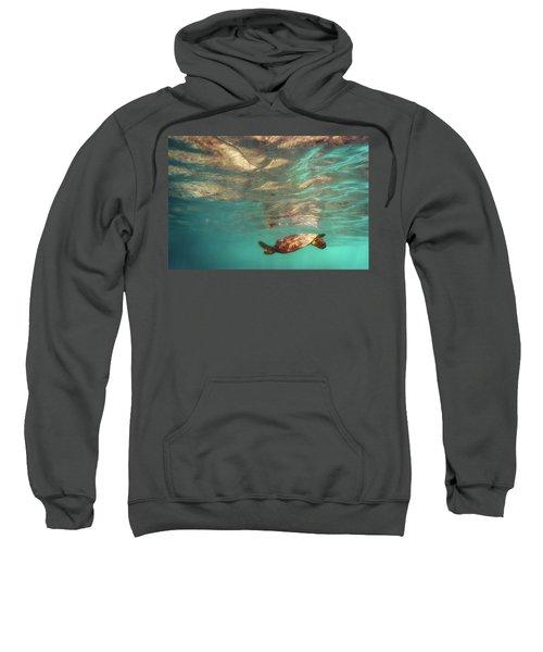 Hawaiian Turtle Sweatshirt