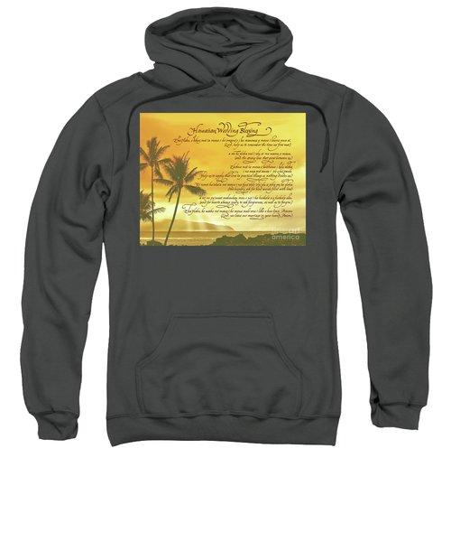 Hawaiian Wedding Blessing-sunset Sweatshirt