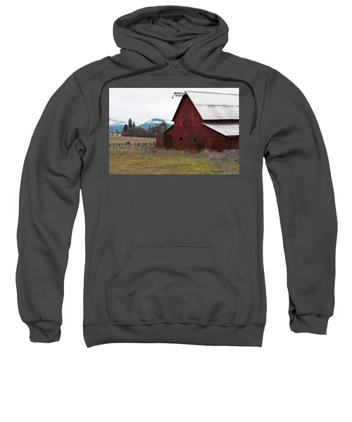 Hayfork Red Barn Sweatshirt