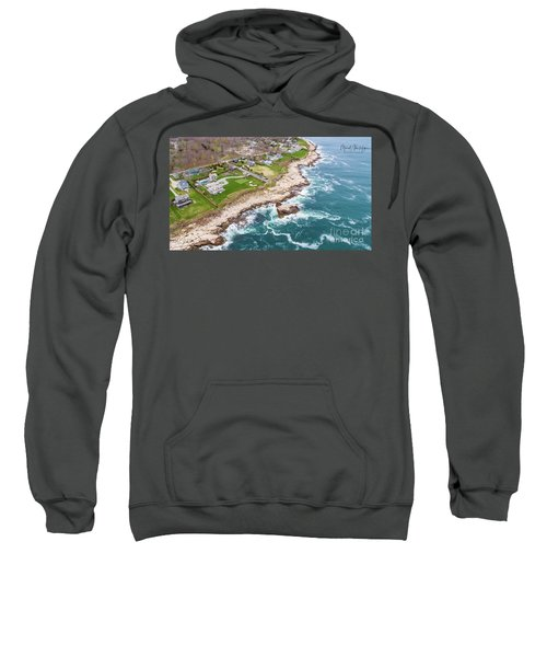 Hazard Rocks, Narragansett  Sweatshirt