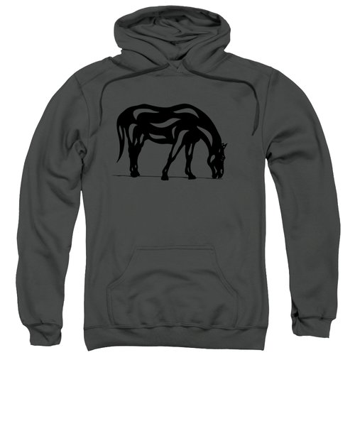 Hazel - Abstract Horse Sweatshirt