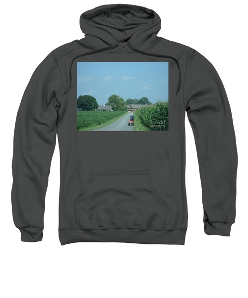 Heading Home From The Market Sweatshirt