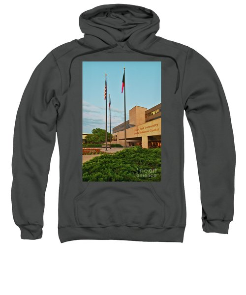 Sweatshirt featuring the photograph Health Sciences Medical Center by Mae Wertz