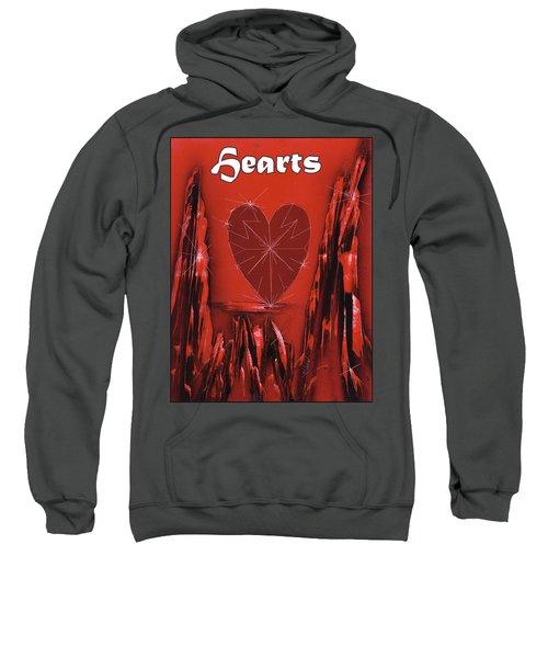 Hearts Suit Sweatshirt