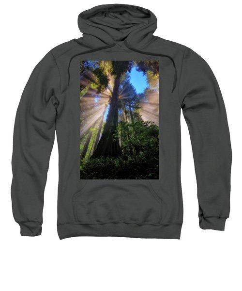 Heavenly Light Rays Sweatshirt