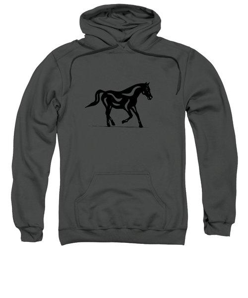 Heinrich - Abstract Horse Sweatshirt