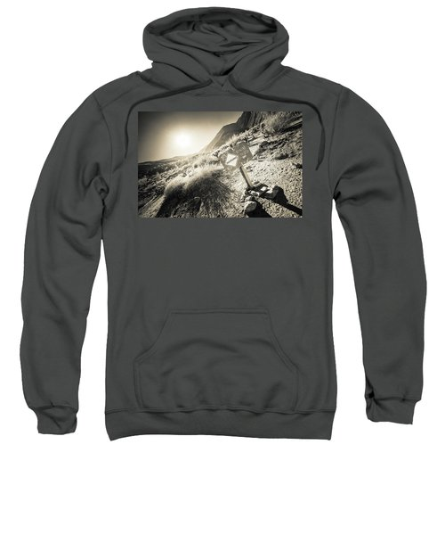 Hellhole Canyon Warning Sweatshirt
