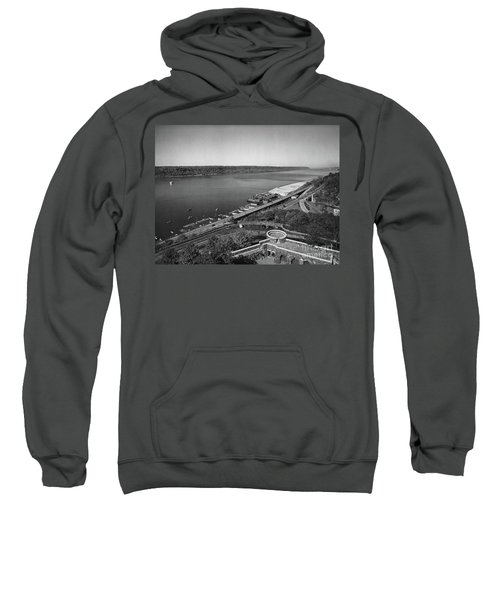 Henry Hudson Parkway, 1936 Sweatshirt by Cole Thompson