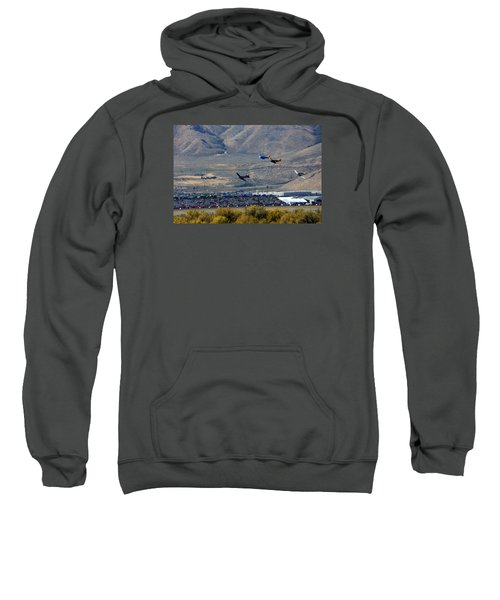 Here's Looking Back At You.  T6 Race. Sweatshirt