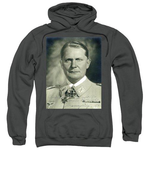 Herman Goering Autographed Photo 1945 Color Added 2016 Sweatshirt