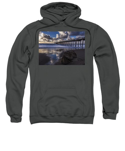 Hermosa Beach Pier Sweatshirt