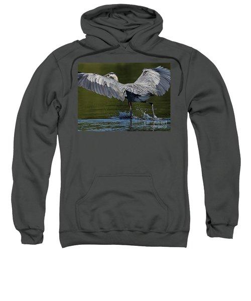 Heron On The Run Sweatshirt