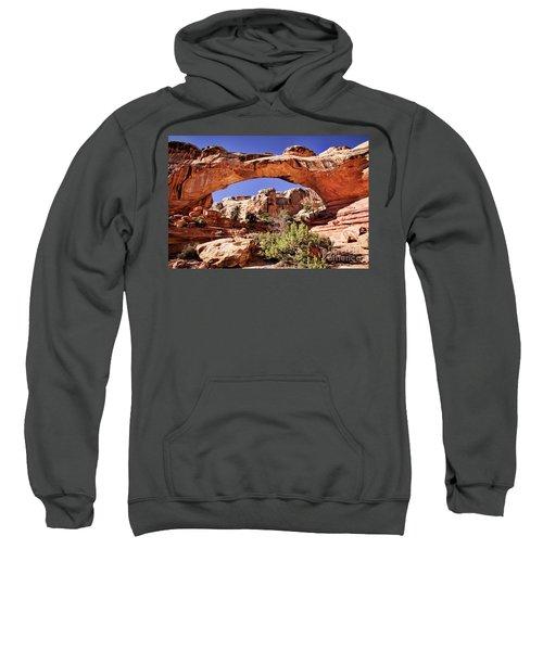 Sweatshirt featuring the photograph Hickman Bridge by Scott Kemper