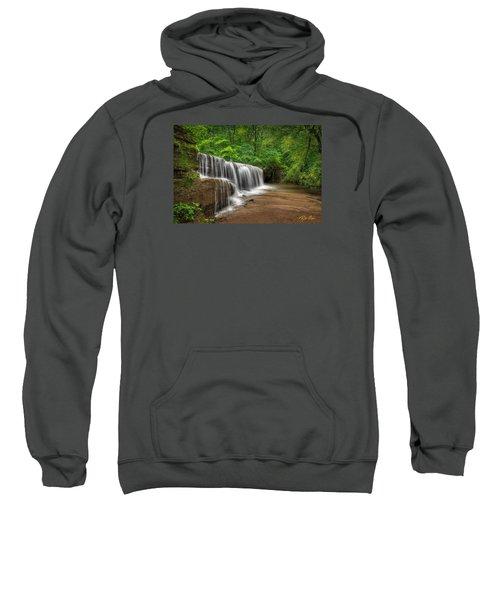 Hidden Falls  Sweatshirt by Rikk Flohr