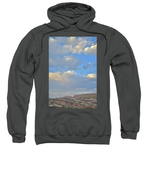 High Clouds Over Caineville Wash Sweatshirt