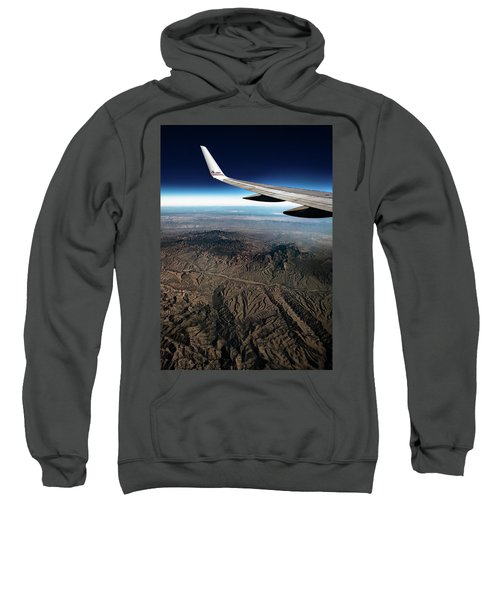 High Desert From High Above Sweatshirt