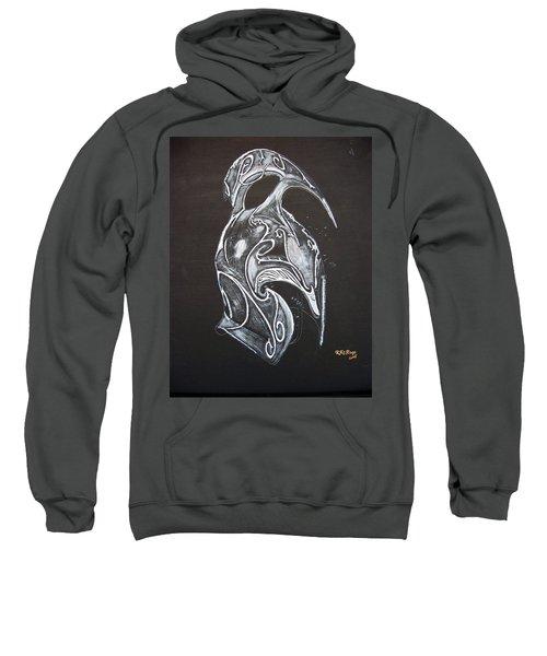 High Elven Warrior Helmet Sweatshirt