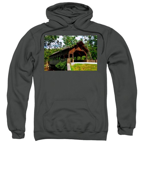 High Falls Covered Bridge Sweatshirt