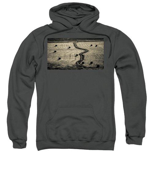 High Mountain Hay Field #3 Sweatshirt