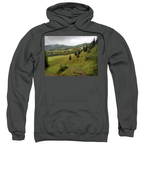 Highlands Landscape In Pieniny Sweatshirt