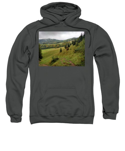Highlands Landscape In Pieniny Sweatshirt
