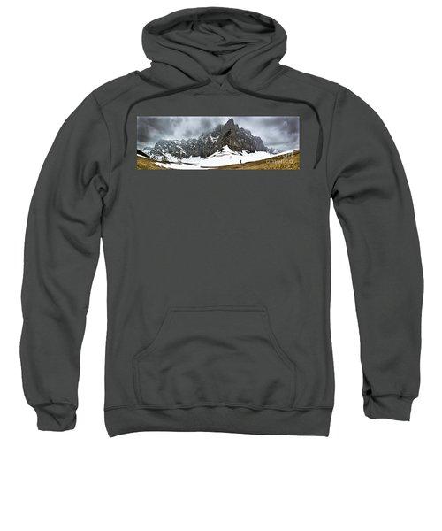 Hiking In The Alps Sweatshirt