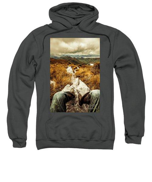 Hiking The Mount Sprent Trail Sweatshirt
