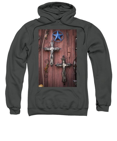 Hill Country Crosses Sweatshirt