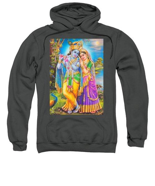 Hindu God Lord Radha Krishna Sweatshirt