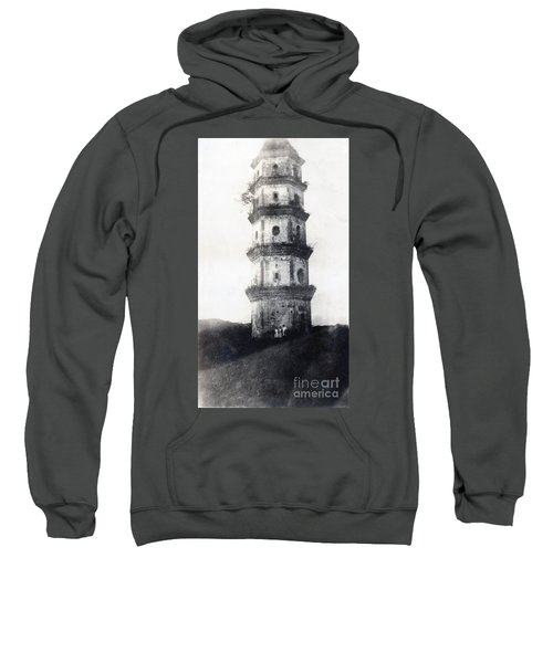 Historic Asian Tower Building Sweatshirt