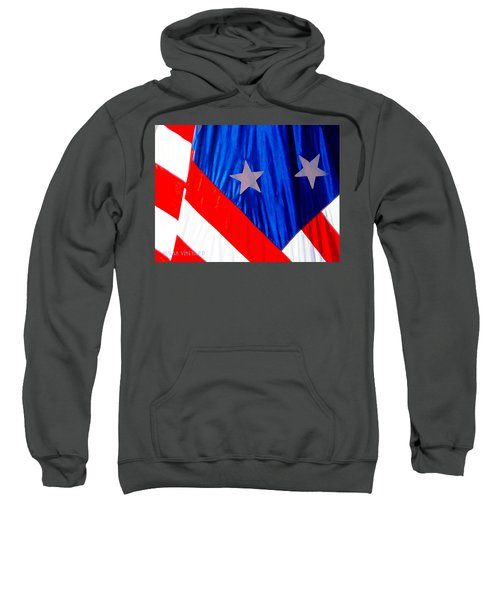 Historical American Flag Sweatshirt