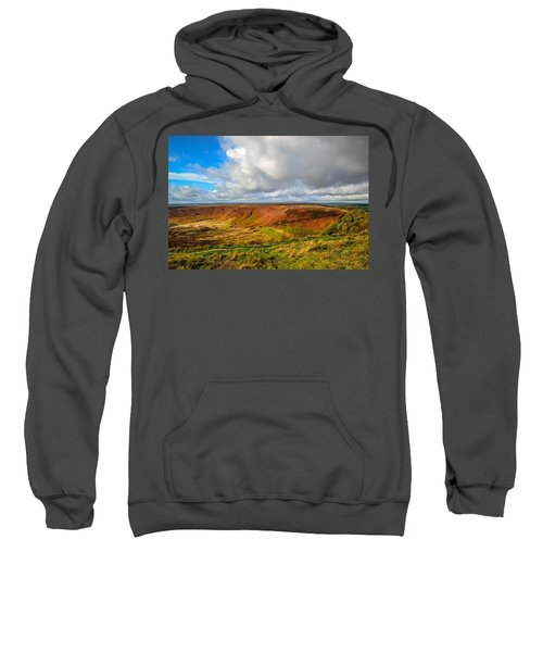 Hole Of Horcum, North York Mores, Yorkshire, United Kingdom Sweatshirt
