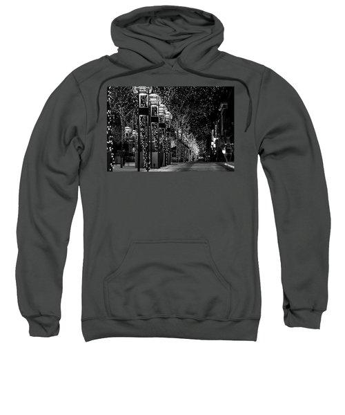 Holiday Lights - 16th Street Mall Sweatshirt