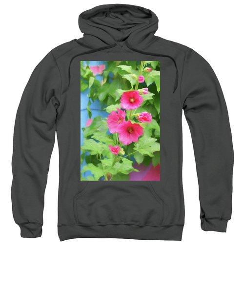 Hollyhocks - 1 Sweatshirt