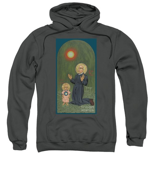 Holy Father Pedro Arrupe, Sj In Hiroshima With The Christ Child 293 Sweatshirt