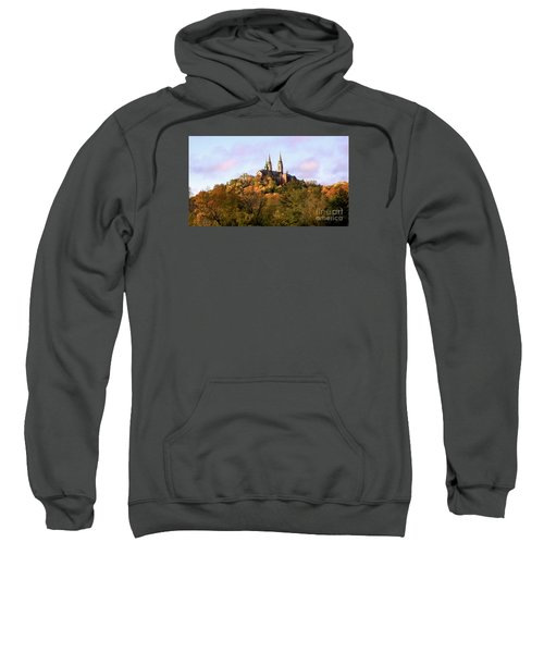 Sweatshirt featuring the photograph Holy Hill Basilica, National Shrine Of Mary by Ricky L Jones
