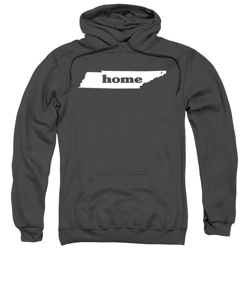 home TN on Green Sweatshirt