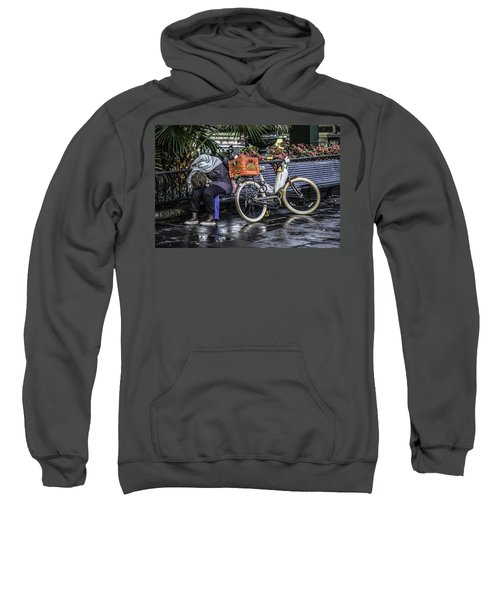 Homeless In New Orleans, Louisiana Sweatshirt
