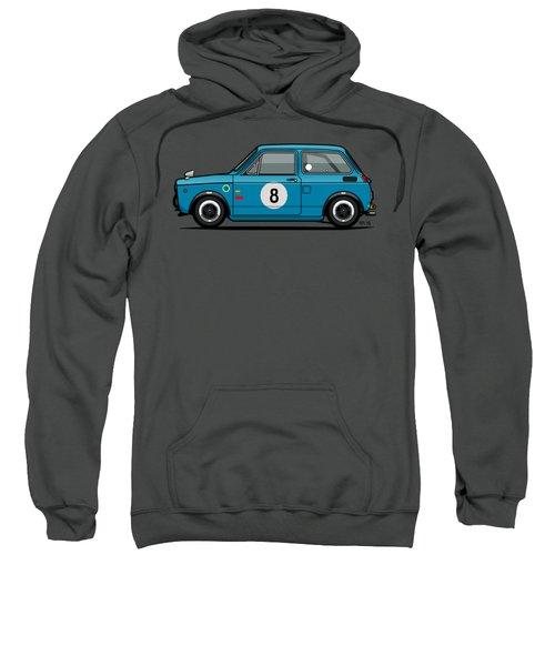 Honda N600 Blue Kei Race Car Sweatshirt