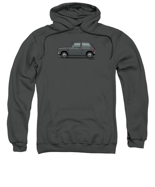 Honda N600 Gray Kei Car Us Version Sweatshirt