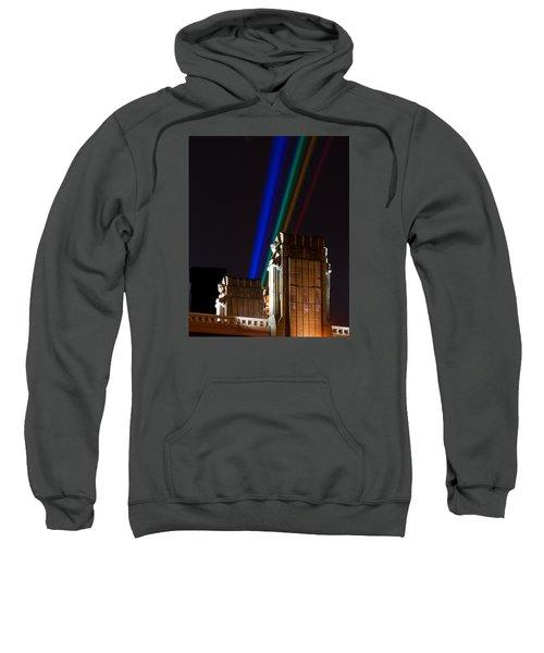 Hope Memorial Bridge, Aha Lights Sweatshirt